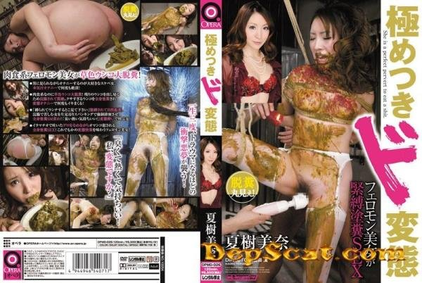Mina SEX Natsuki shit painted beauty bondage is extremely pheromone metamorphosi Natsuki Mina - Scat / Japan [DVDRip/1.4Gb]
