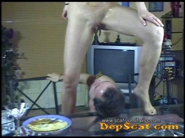 Scat-Vomit-Piss Livesession II - Susan and Marc Susan, Veronika - Scat / Piss [SD/369 MB]