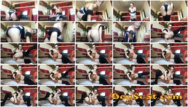 Maid Pooping Her Panties Josslyn Kane - Scat / Solo [FullHD 1080p/1.01 GB]