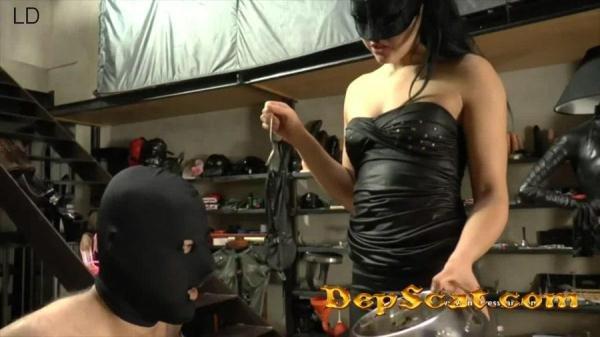 Evil shit Mistress Gaia - Scat / Femdom [FullHD 1080p/1.30 GB]