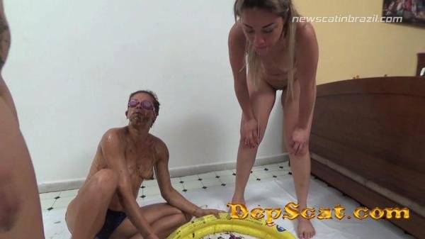 A Pool of Shit Cindy Blueberry, Diana, Marrie - Scat / DepFile [FullHD 1080p/1.24 GB]