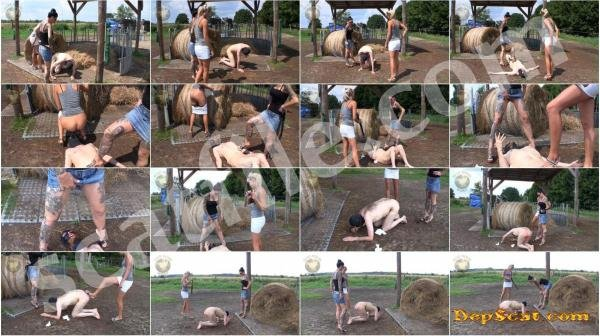 Outdoor Scat Femdom Lady Chantal - Femdom Scat, Toilet Slavery, Domination [HD 720p/395 MB]