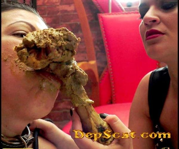 FOOD FOR MY DOG4K Diana, Nicole - Lesbian Scat, Domination Scat [UltraHD 4K/3.79 GB]