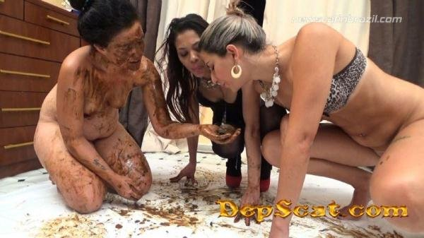 Eat our shit bitch!!! AutumnYoung - Scat Brazil [FullHD 1080p/2.41 GiB]