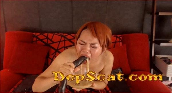 Nasty Chinky Toy Eats vomit shit and piss AutumnYoung - Solo Scat [SD/212 MB]