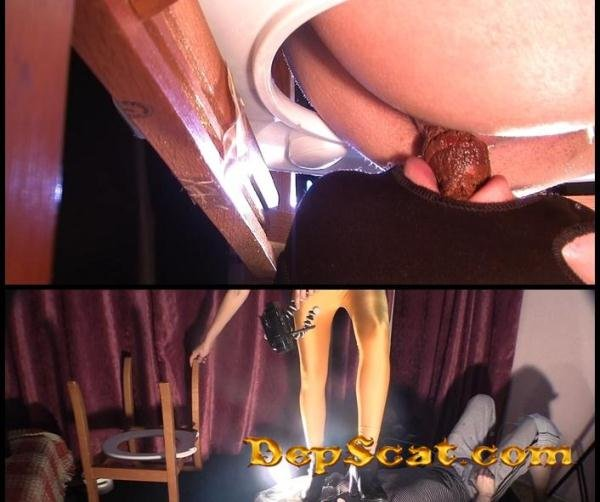 Takes a dump in her slaves mouth Mistress Diana - Big pile, New scat [FullHD 1080p/657 MB]