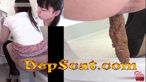 Toilet Cam HotDirtyIvone - Shitting, Big pile, Japan Scat [SD/800 Mb]