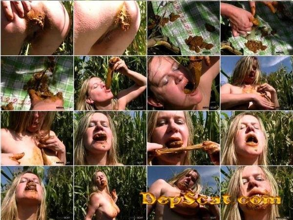 MEGASCAT NATURAL RELIEF AND TASTY LUNCH OF SHIT TattyDirtyPoo - Big Pile, Dirty, Scat [SD/82.3 MB]