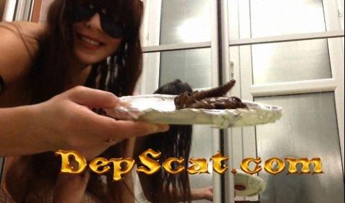 Natural scat girls 857 CruelLolaMelo - Solo Scat [HD 720p/111 MB]