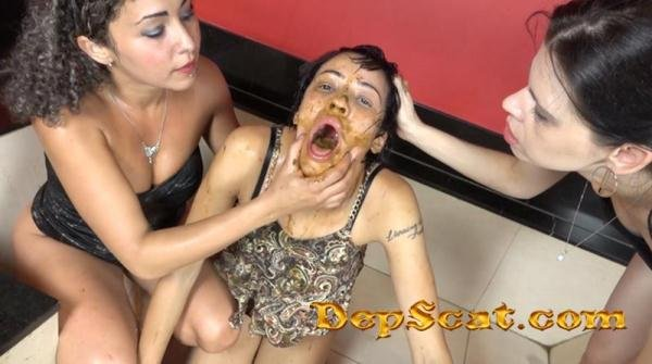 Extreme Double Scat Domination Dinner The Scat Soup Real Swallow - Domination Scat / Lesbian Scat [FullHD 1080p/2.10 GB]