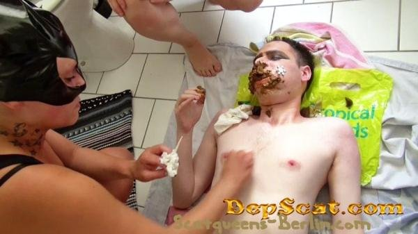The Shit Mask P2 Scat Cats - Scat / Femdom [FullHD/681 MB]