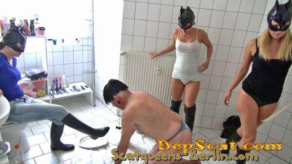 The Worthless Toilet Pig P2 Scat Cats - Scat / Femdom [SD/417 MB]