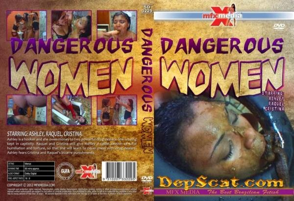 Dangerous Women Ashley, Raquel, Cristina - Scat / Lesbian [HD 720p/1.28 GB]