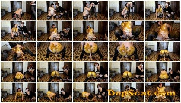 Olga a Slave a Mouth full of Diarrhea ModelNatalya94 - Scat / Poop [FullHD 1080p/1.14 GB]