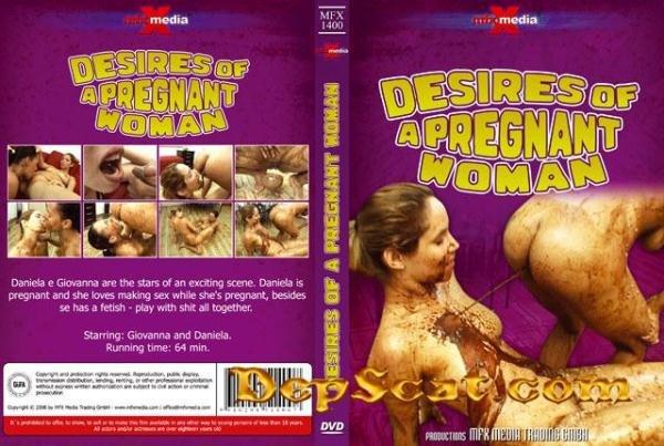 Desires of a Pregnant Scat Woman Giovana, Daniela - Scat / Lesbian [SD/397 MB]