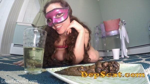 Piss & Shit Meal Just For You LoveRachelle2 - Poop Videos / Solo [FullHD 1080p/395 MB]