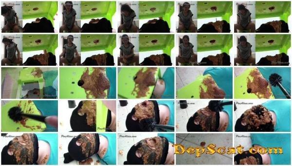 Toilet Slave Eats Alina's Morning Diarrhea ooAlina - Young Scat Girls / Femdom Scat [HD 720p/175 MB]