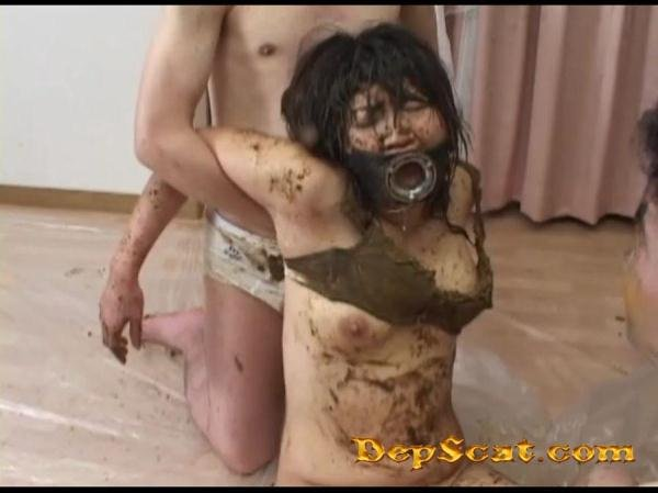 Lady's First Fecal Episode C Feces People 9 - Scat Rape / Japan Scat [SD/605 MB]
