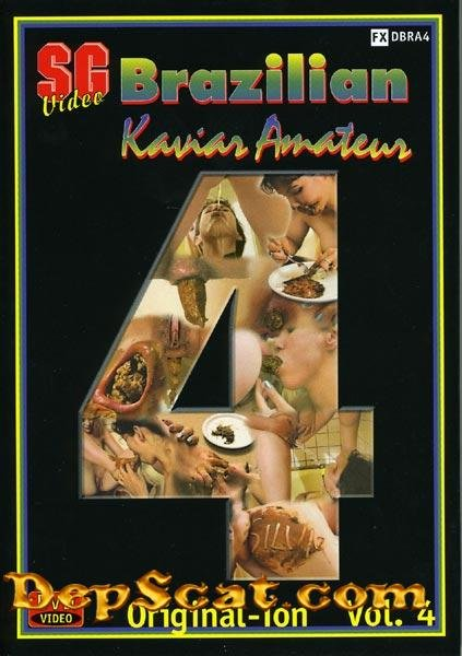 Brazilian Kaviar Amateur 4 Sandy - Scat / Lesbian [DVDRip/207 MB]