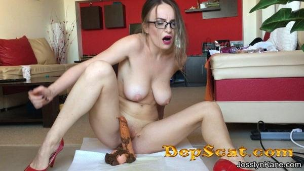 Strip tease and pooping on your cock JosslynKane - Defecation / Solo [FullHD 1080p/1.69 GB]