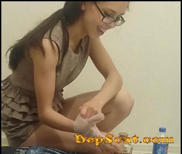 Toilet Slave Eats Alina Shit PooAlina - Scat Humiliation, Scat Porn [HD 720p/305 MB]