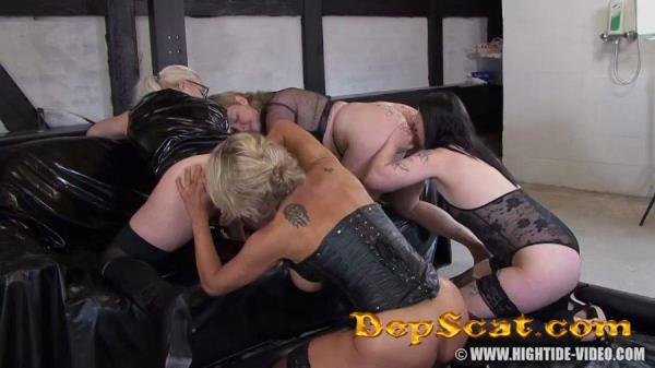 Betty & Friends - Four Of A Kind Betty - Lesbian, Humiliation [HD 720p/964 MB]