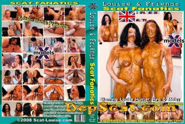 Louise & Friends 7 - Scat Fanatics Louise Hunter, Kira, Maisy - Dirty Anal, Scat Lesbian [DVDRip/606 MB]