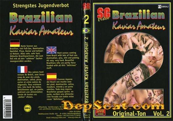 Brazilian Kaviar Amateur 02 Girls - Domination Scat, Scat Porn [CamRip/212 MB]