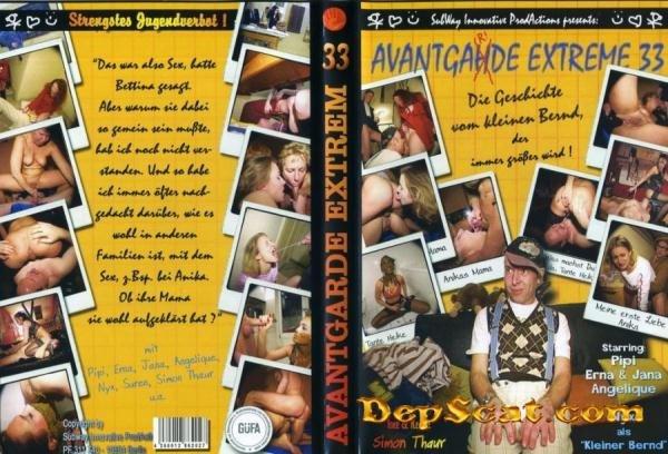 Avantgarde Extreme 33 Pipi, Jana, Erna, Angelique - Scatting, Domination Scat [DVDRip/700 MB]