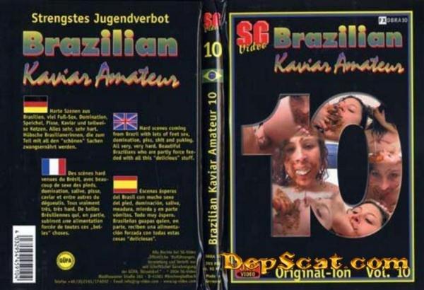 Brazilian Kaviar Amateur 10 Scat Girls - Domination, Scat Lesbian [DVDRip/671 MB]
