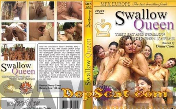 Mfx-652 Swallow Queen Chris, Monica, Christina, Dyana, Josie, Michelle - Mega Fart Girl, Scat Lesbian [DVDRip/428 MB]