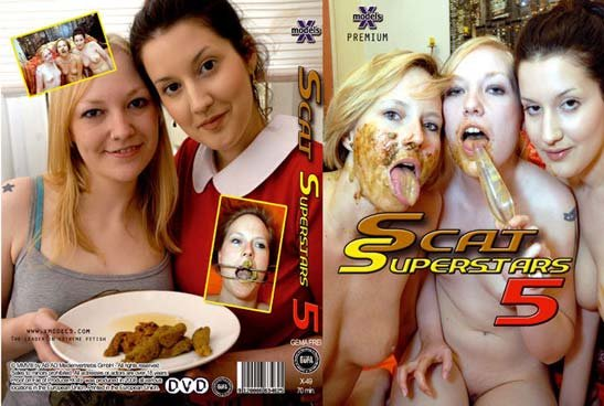 Scat Superstars 5 Louise Hunter, Susan, Tiffany, Maisy, Kira - Lesbians, Shitting [DVDRip/655 MB]