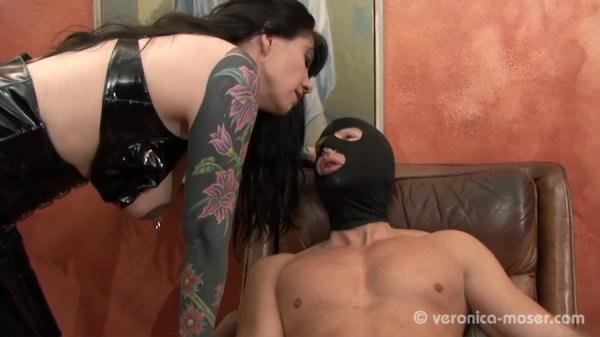 The Bitch Veronica Moser - Germany, Femdom Scat, Shitting [SD/63.4 MB]