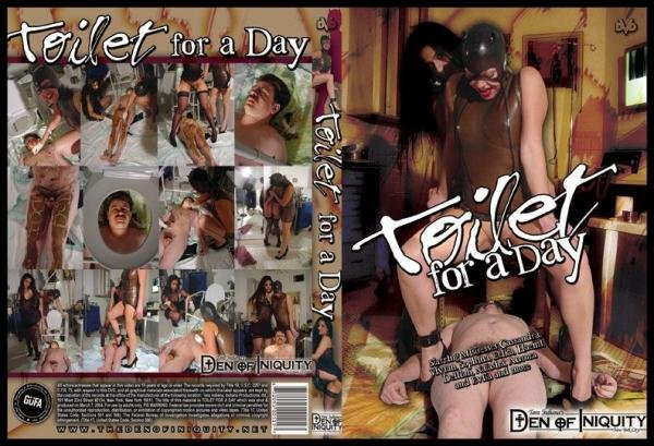 Toilet For A Day ScatGirls - Domination Scat, Scat Porn [DVDRip/302 MB]