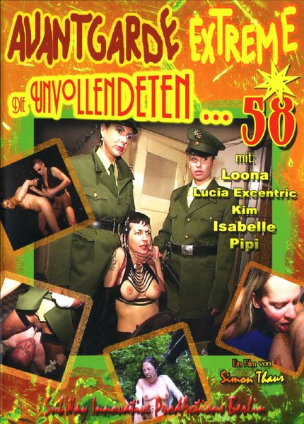 Avantgarde Extreme 58 Loona, Donna Excentric - Germany, Sex Scat [DVDRip/1.16 GB]