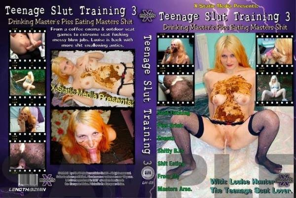 Teenage Slut Training 3 Teen girls Louise Hunter, and the masked minger man - Scat, Blowjobs, Europe [DVDRip/917 MB]