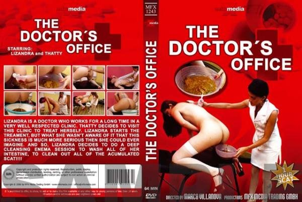 MFX-1243 The Doctor's Office Tatthy, Lizandra - Enema, Scat, Brazil [DVDRip/700 MB]