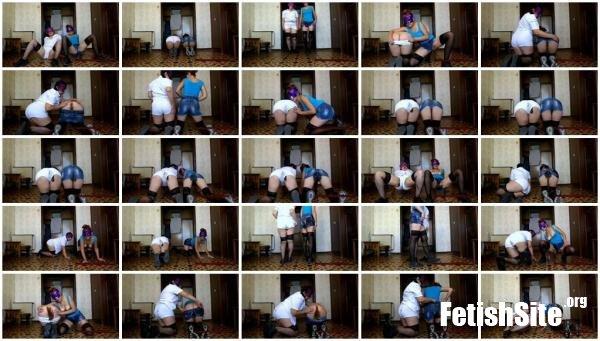 Sports and denim shorts ModelNatalya94 - Dirty Anal, Scat Lesbian [FullHD 1080p/1.13 GB]