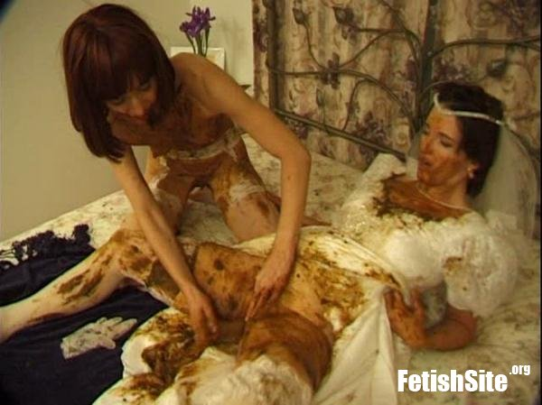Brown Wedding Night Prettylisa, Lady St. Claire, 1 male - Humiliation, Femdom Scat [SD/699 MB]