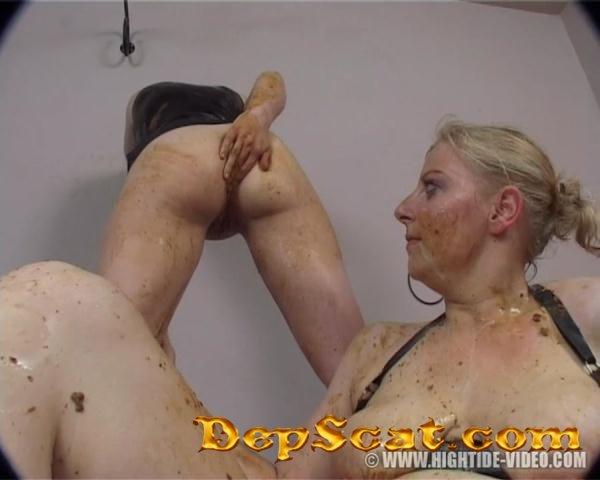 Lesbian Anal Strapon Sex