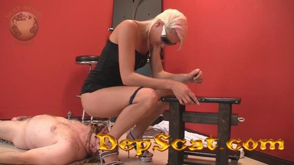 Very dirty scat session Lady Chantal, Miss Cherie - Scat, Pissing, Femdom, Humiliation [HD 720p/299,28 Mb]