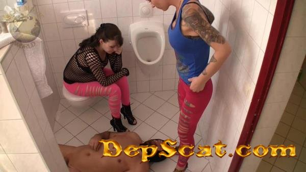 Bad Toilet Lady Chantal - Scat, Femdom, Toilet, Eat Shit, Slaves Scat [FullHD 1080p/2 Gb]