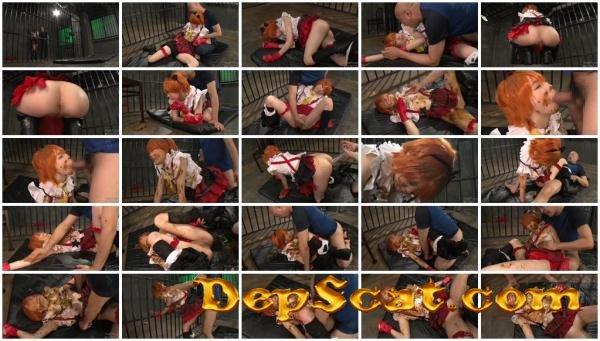 [OPUD-239] Cosplay Aoki Rin in captivitys scatology rape , Part 3 Aoki Rin - Domination, Japan Scat [DVDRip/1.37 GB]