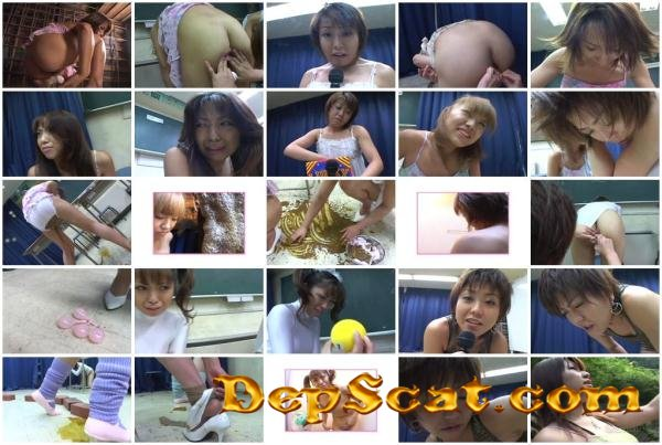[SUG-02] Scat Giga poop peeing patience Competitions GIGA - Lesbian Scat, Japan [DVDRip/1.02 GB]