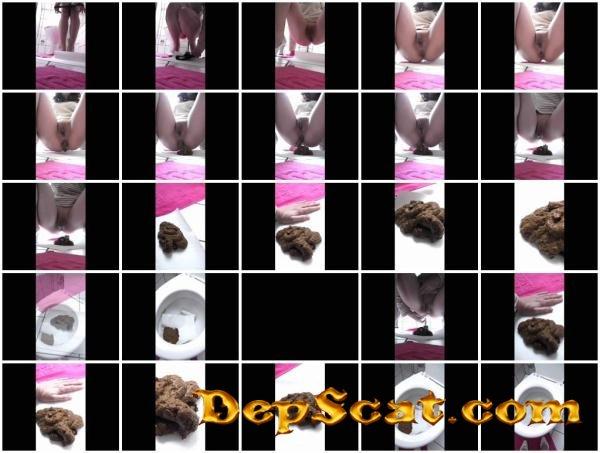 Toilet Slavery 21 Kim Koettbullar - Amateur Scat, Solo [HD 720p/63.3 MB]