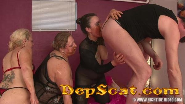 More Little Pigs - Gina, Francesca, Nadia, 1 Male - Enema, BBW Scat [HD 720p/1.20 GB]