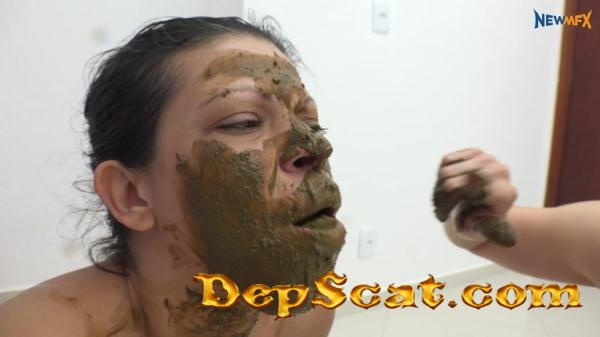 Demmi' Big white ass shitting Demmi - Femdom Scat, Shitting [4K UltraHD/3.20 GB]