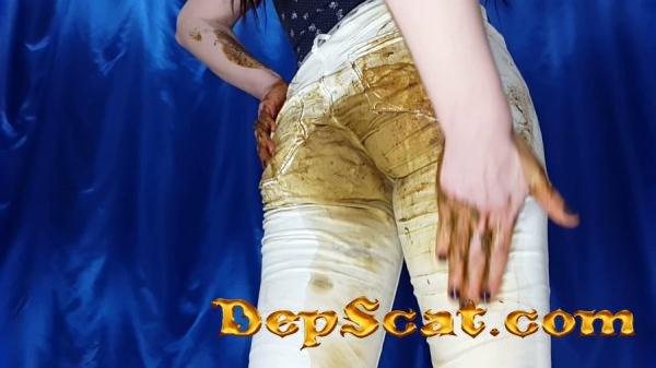 White Jeans Anna Coprofield - Jeans, Diarrhea [FullHD 1080p/1.55 GB]