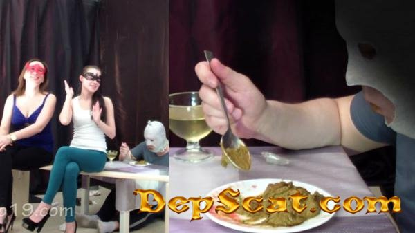 2 mistresses cooked a delicious shit breakfast for a slave Smelly Milana - Toilet Slavery, Femdom [FullHD 1080p/1.19 GB]
