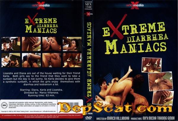 MFX-1344 Extreme Diarrhea Maniacs arla, Diana, Lizandra - Lesbians, Germany [DVDRip/700 MB]
